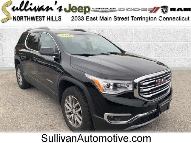 Used GMC Acadia SLE-2 2018   Sullivan Automotive Group. Avon, Connecticut