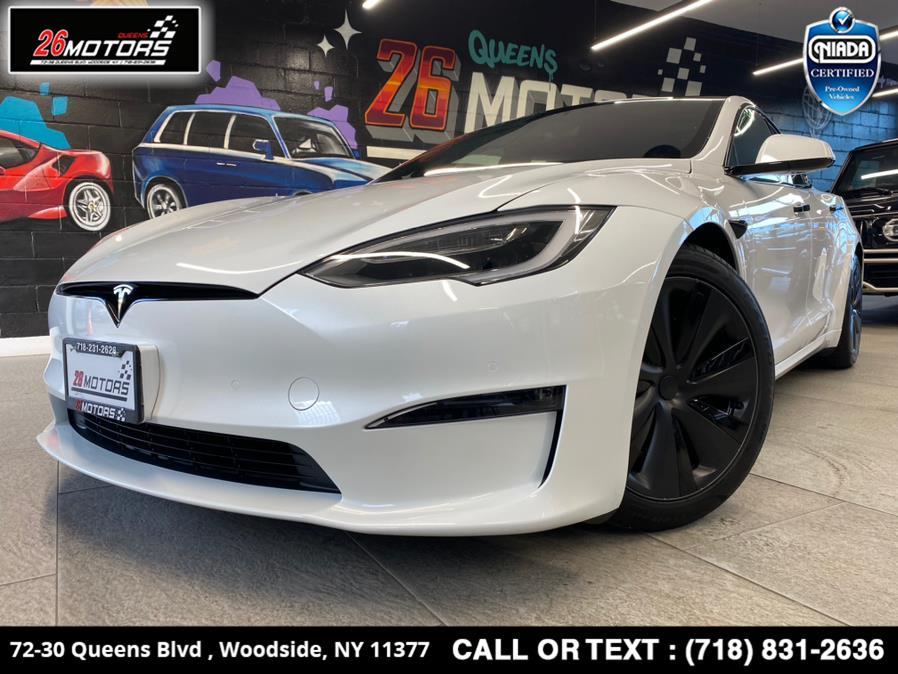Used Tesla Model S Plaid AWD 2021 | 26 Motors Queens. Woodside, New York