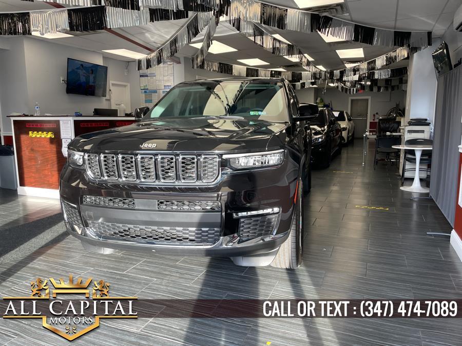 Used Jeep Grand Cherokee L Limited 4x4 2021   All Capital Motors. Brooklyn, New York