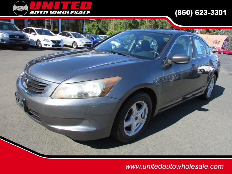 Used Honda Accord Sdn 4dr I4 Auto LX PZEV 2009 | United Auto Sales of E Windsor, Inc. East Windsor, Connecticut