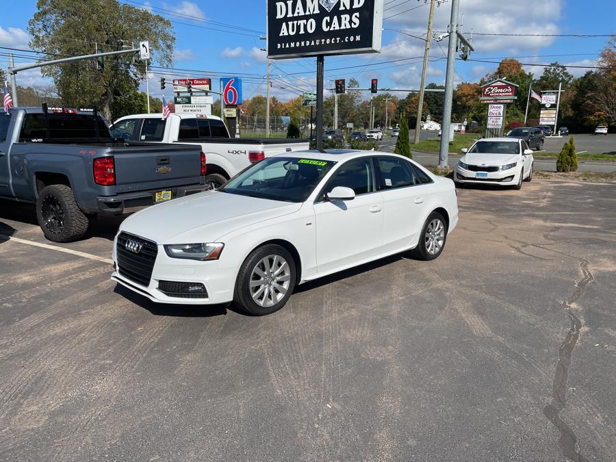 Used 2015 Audi A4 in Vernon, Connecticut   Diamond Auto Cars LLC. Vernon, Connecticut