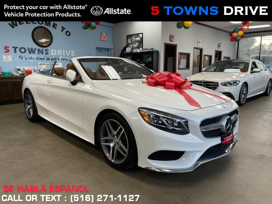 Used Mercedes-Benz S-Class AMG S 550 Cabriolet 2017 | 5 Towns Drive. Inwood, New York