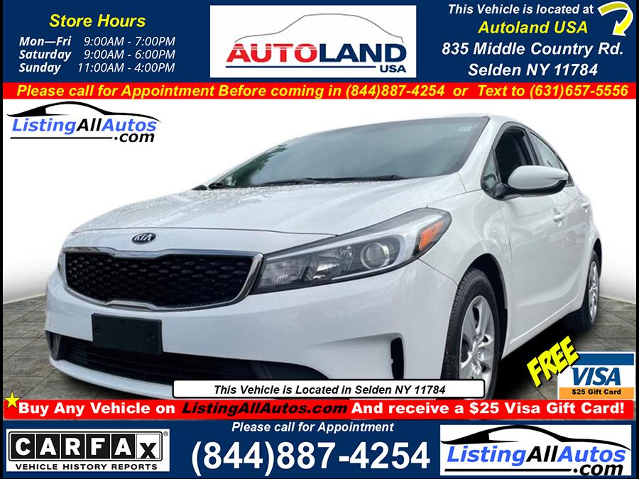 Used 2017 Kia Forte in Patchogue, New York | www.ListingAllAutos.com. Patchogue, New York