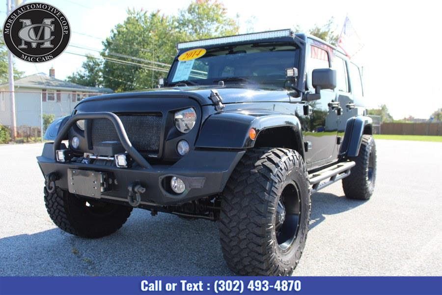 Used Jeep Wrangler Unlimited 4WD 4dr Sport 2014 | Morsi Automotive Corp. New Castle, Delaware