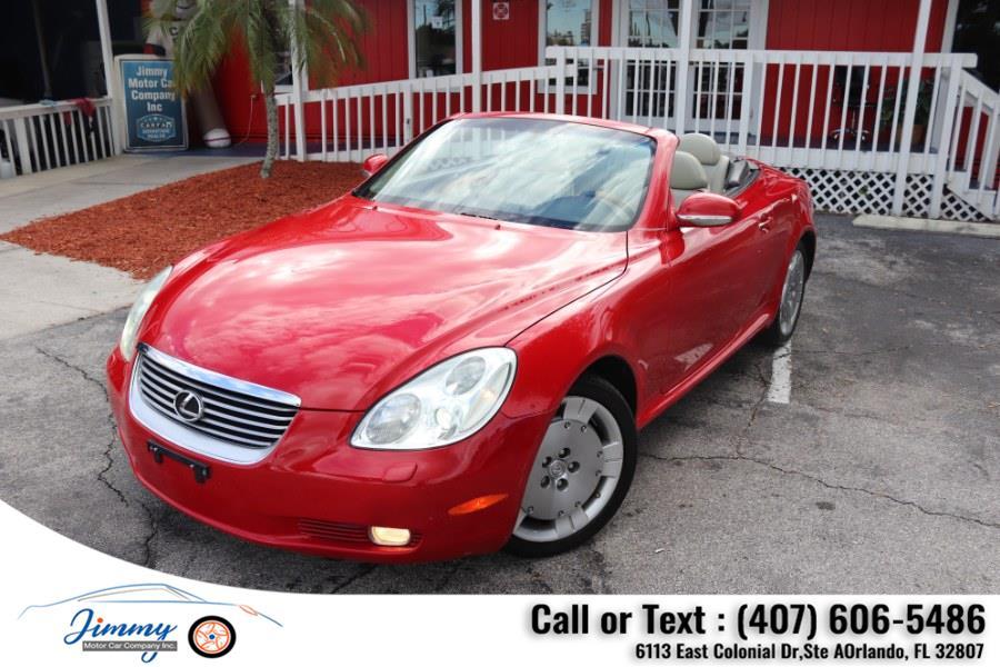 Used Lexus SC 430 2dr Convertible 2002   Jimmy Motor Car Company Inc. Orlando, Florida