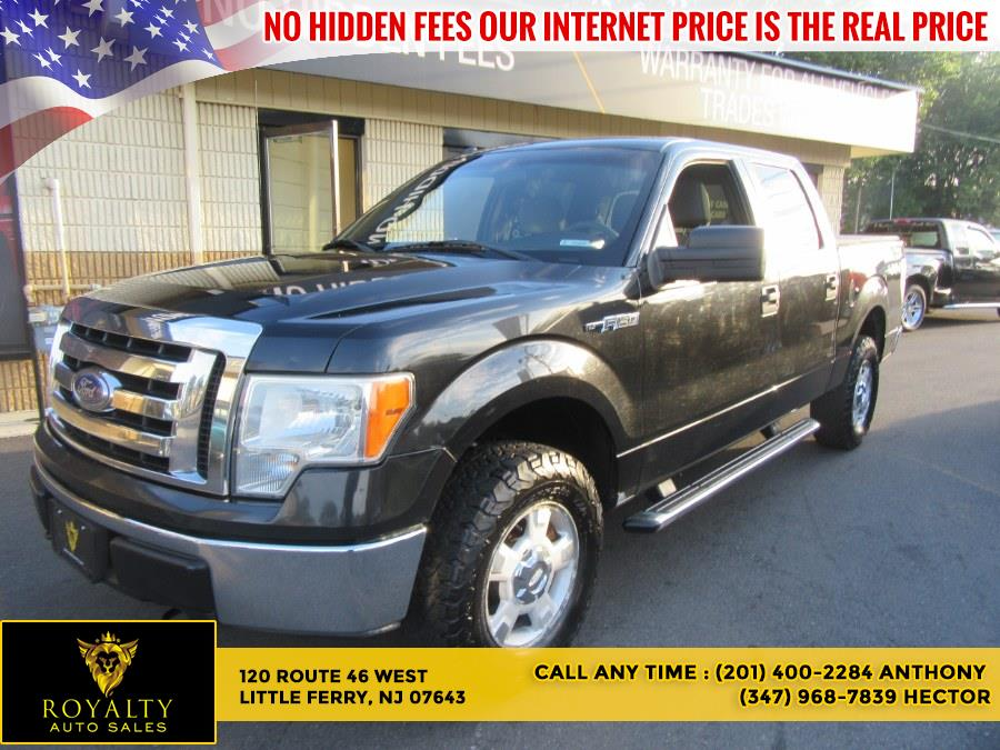 """Used Ford F-150 4WD SuperCrew 145"""" XLT 2011   Royalty Auto Sales. Little Ferry, New Jersey"""