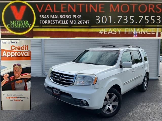 Used Honda Pilot Touring 2012   Valentine Motor Company. Forestville, Maryland