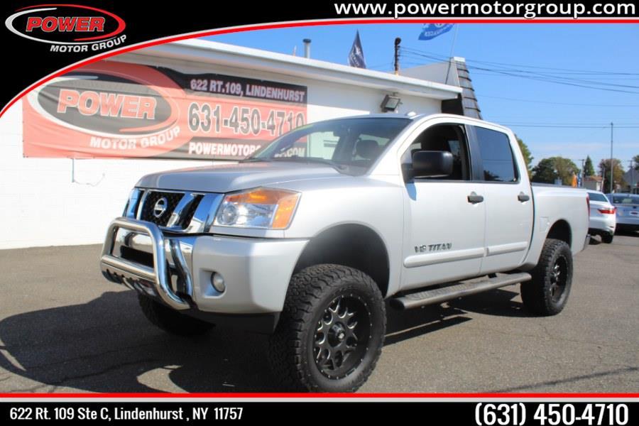 Used Nissan Titan 4WD Crew Cab SWB SV 2013 | Power Motor Group. Lindenhurst, New York