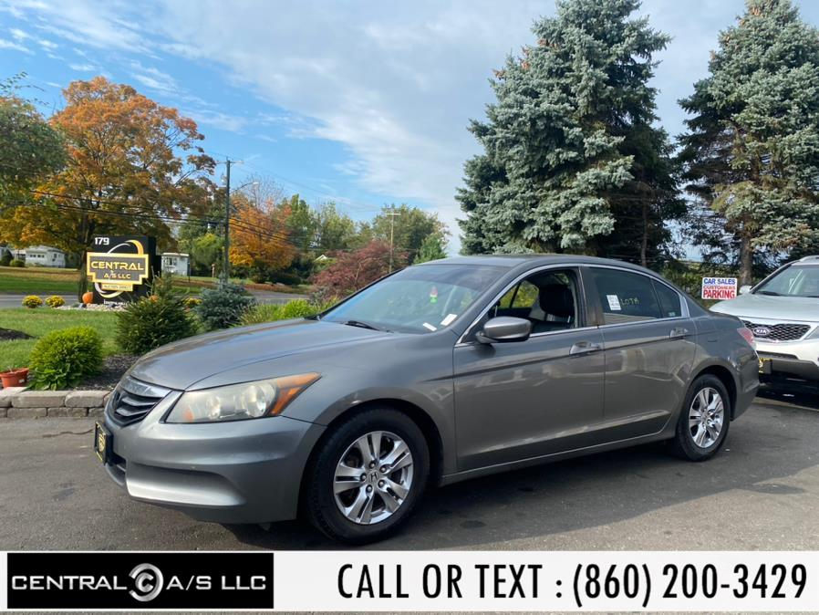 Used Honda Accord Sdn 4dr I4 Auto SE 2011 | Central A/S LLC. East Windsor, Connecticut