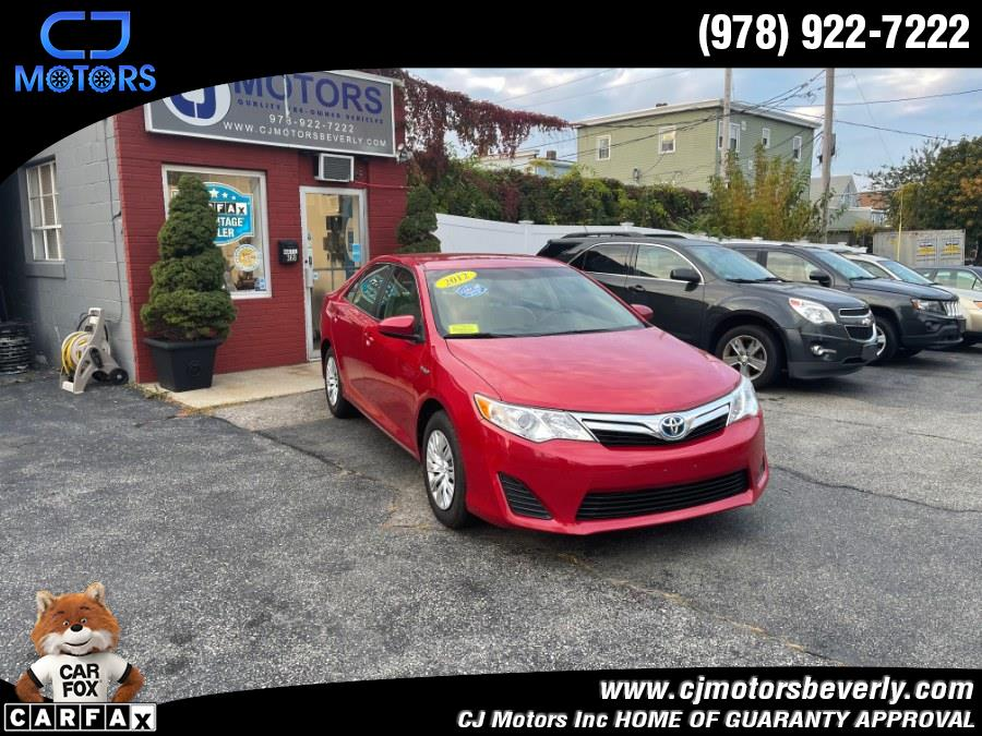 Used 2012 Toyota Camry Hybrid in Beverly, Massachusetts | CJ Motors Inc. Beverly, Massachusetts