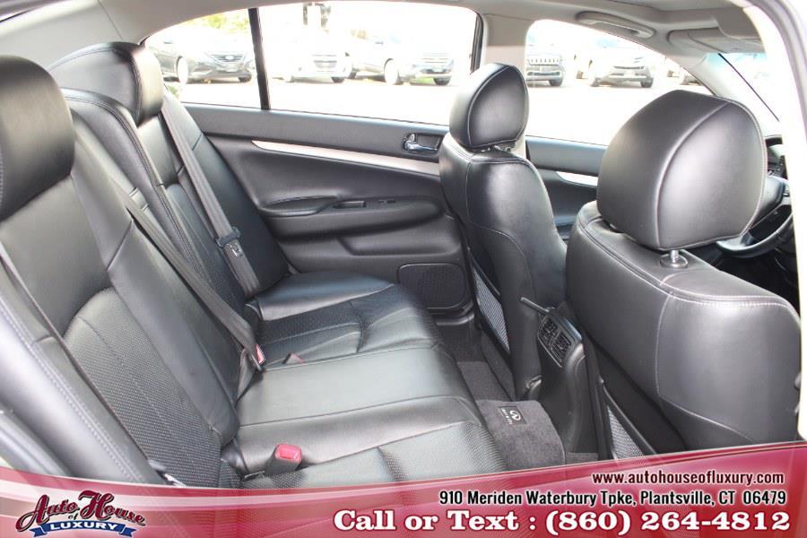 Used Infiniti G37 Sedan 4dr x AWD 2010 | Auto House of Luxury. Plantsville, Connecticut