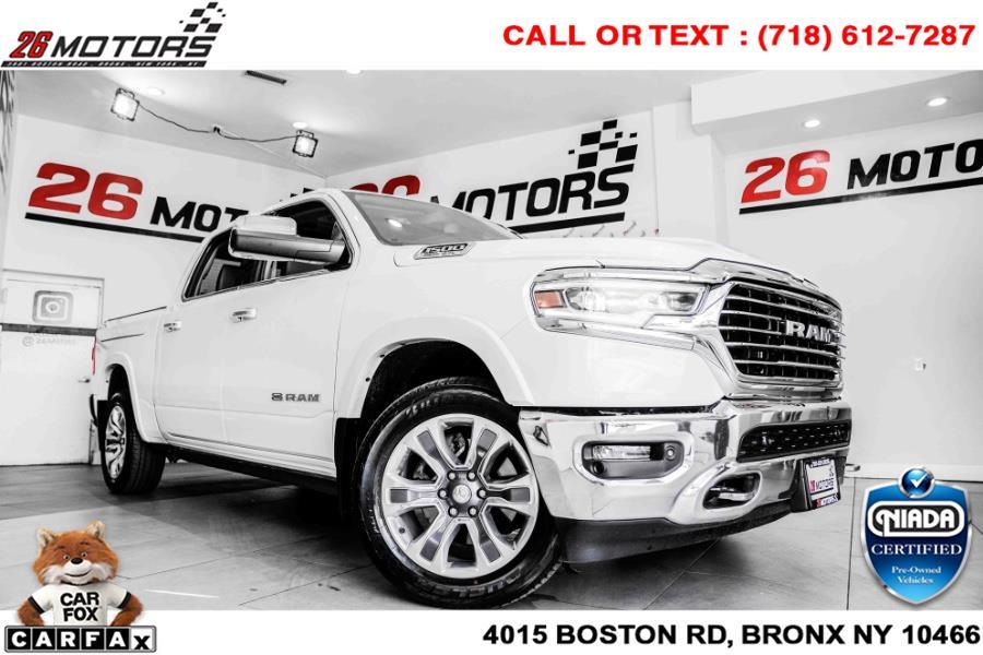 "Used Ram 1500 Laramie Longhorn 4x4 Crew Cab 5''7"" Box 2019   26 Motors Corp. Bronx, New York"