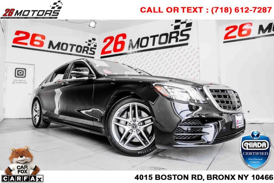 Used Mercedes-Benz S-Class S 560 4MATIC Sedan 2019 | 26 Motors Corp. Bronx, New York