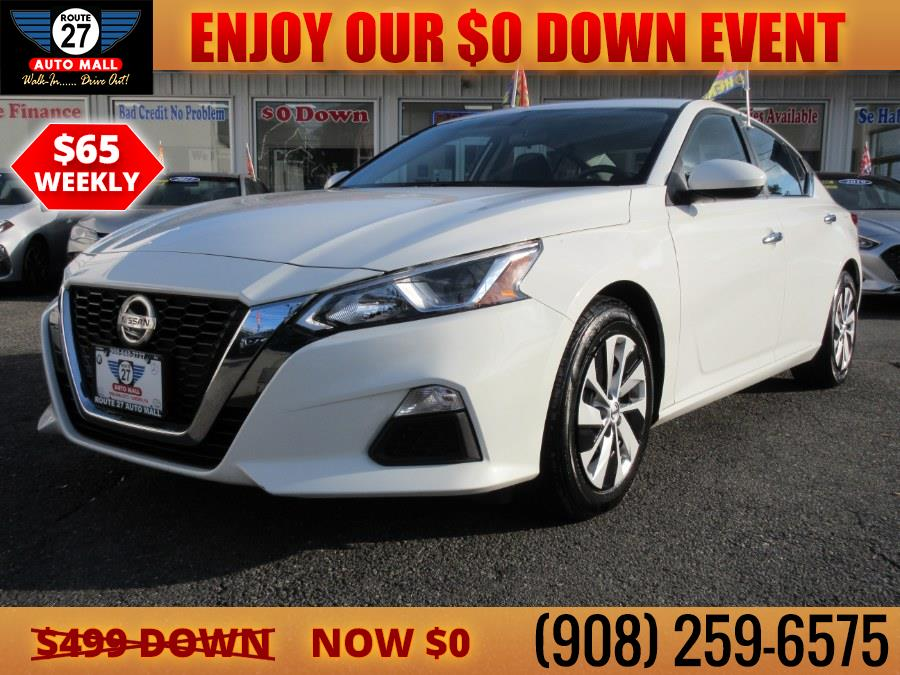 Used 2020 Nissan Altima in Linden, New Jersey   Route 27 Auto Mall. Linden, New Jersey