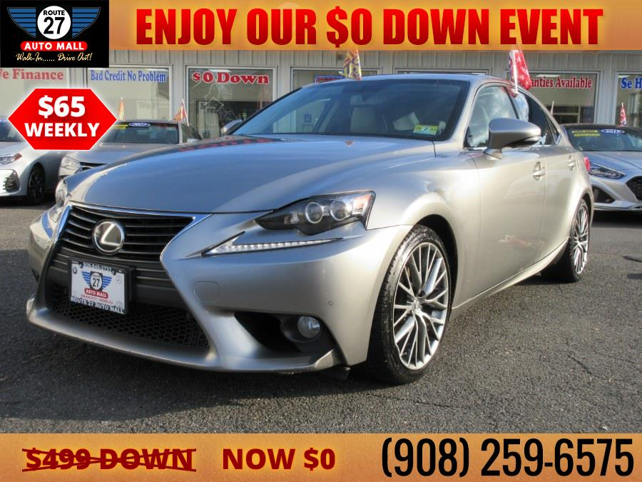 Used 2014 Lexus IS 250 in Linden, New Jersey | Route 27 Auto Mall. Linden, New Jersey