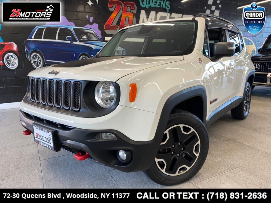 Used Jeep Renegade 4WD 4dr Trailhawk 2016 | 26 Motors Queens. Woodside, New York