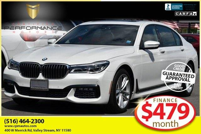 Used 2017 BMW 7 Series in Valley Stream, New York   Certified Performance Motors. Valley Stream, New York