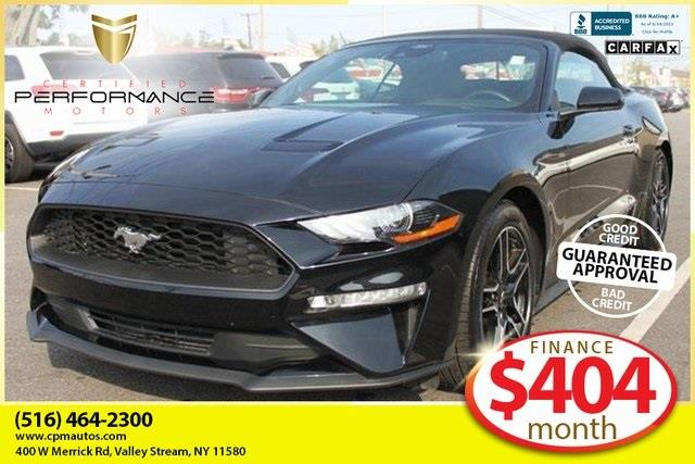 Used 2021 Ford Mustang in Valley Stream, New York   Certified Performance Motors. Valley Stream, New York