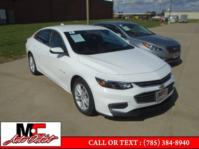 Used 2018 Chevrolet Malibu in Colby, Kansas | M C Auto Outlet Inc. Colby, Kansas