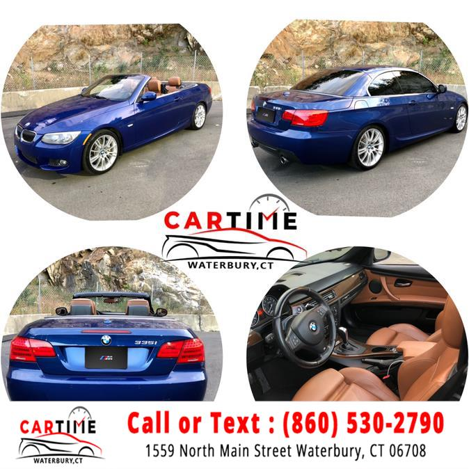 Used BMW 3 Series 2dr Conv 335i RWD 2013 | Car Time LLC. Waterbury, Connecticut