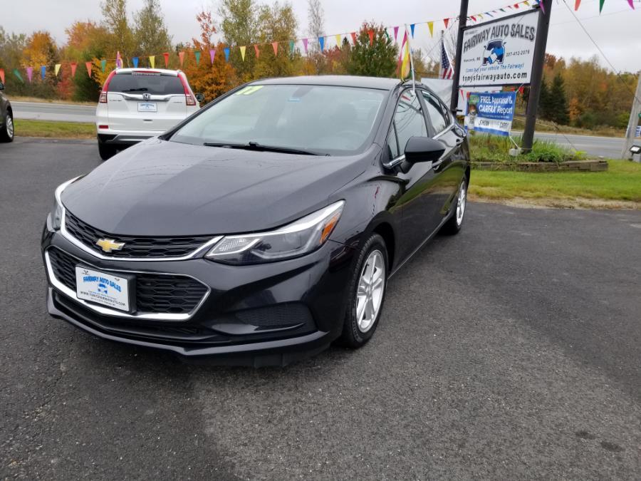 Used 2017 Chevrolet Cruze in Hancock, Maine | Fairway Auto Sales. Hancock, Maine