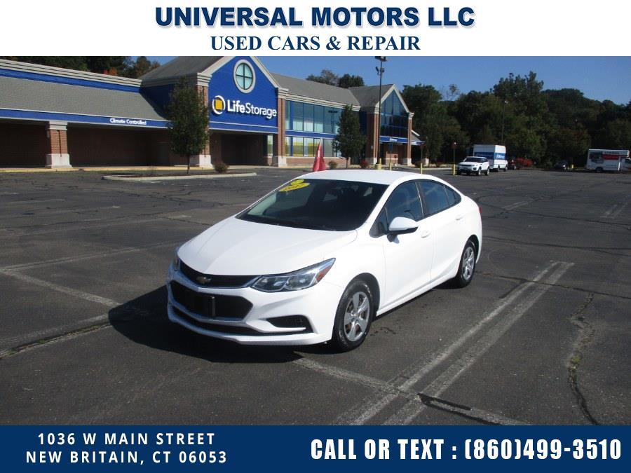 Used 2017 Chevrolet Cruze in New Britain, Connecticut | Universal Motors LLC. New Britain, Connecticut