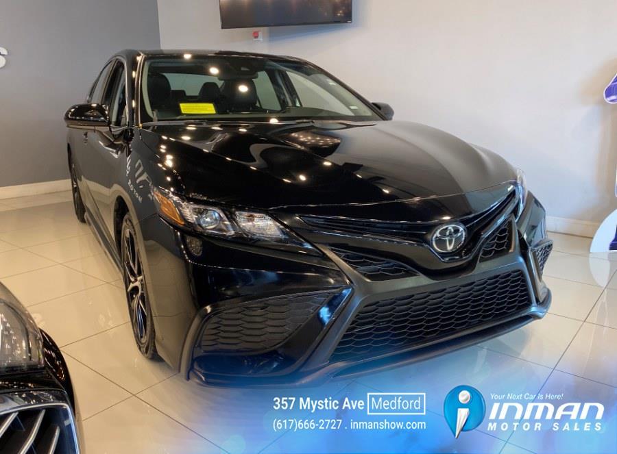Used Toyota Camry SE Auto (Natl) 2021 | Inman Motors Sales. Medford, Massachusetts