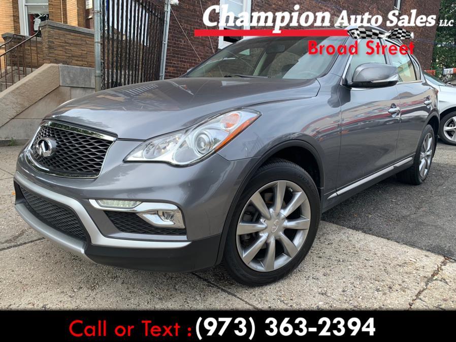 Used 2017 INFINITI QX50 in Newark, New Jersey   Champion Used Auto Sales LLC. Newark, New Jersey