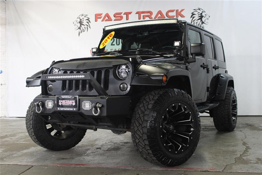 Used Jeep Wrangler Unlimited SPORT 2016 | Fast Track Motors. Paterson, New Jersey