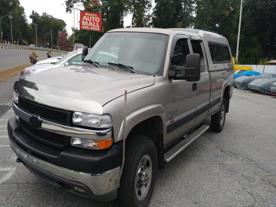 "Used Chevrolet Silverado 2500HD Ext Cab 157.5"" WB LS 2002 | Matts Auto Mall LLC. Chicopee, Massachusetts"