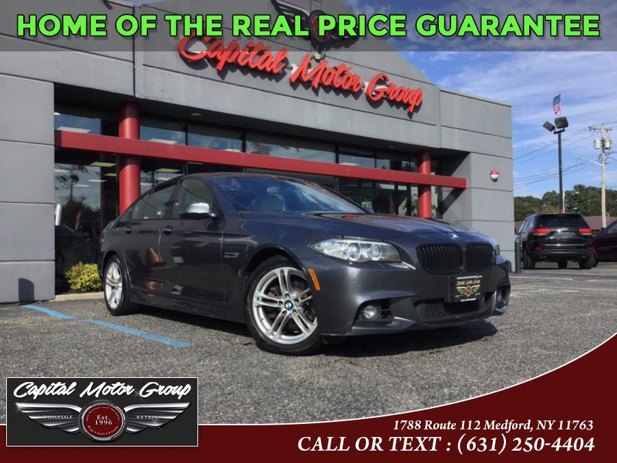 Used 2015 BMW 5 Series in Medford, New York | Capital Motor Group Inc. Medford, New York