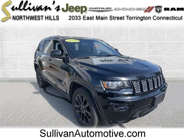 Used Jeep Grand Cherokee Altitude 2018   Sullivan Automotive Group. Avon, Connecticut