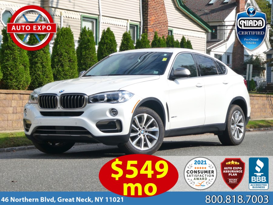 Used 2019 BMW X6 in Great Neck, New York | Auto Expo Ent Inc.. Great Neck, New York
