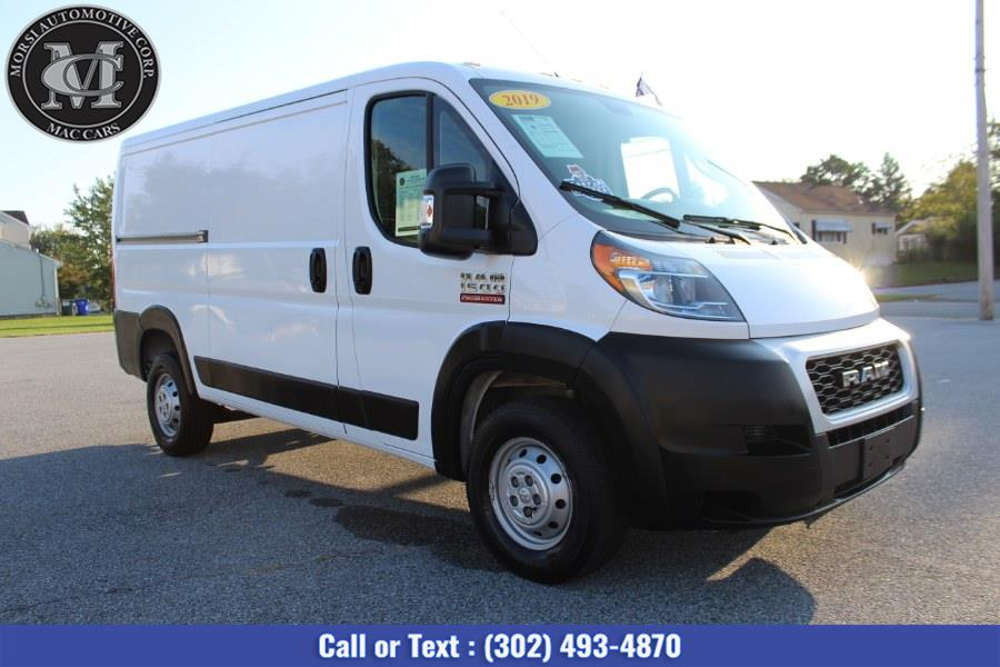 """Used Ram ProMaster Cargo Van 1500 Low Roof 136"""" WB 2019   Morsi Automotive Corp. New Castle, Delaware"""
