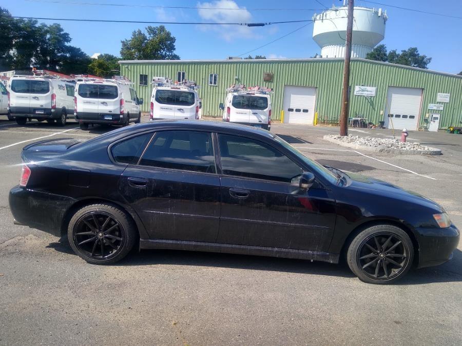Used Subaru Legacy Sedan 2.5 GT Ltd Auto Black Interior 2005 | Payless Auto Sale. South Hadley, Massachusetts
