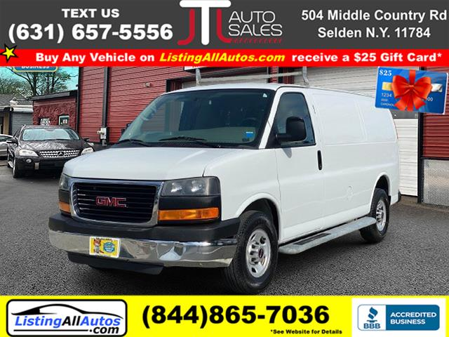 Used 2014 GMC Savana Cargo Van in Patchogue, New York   www.ListingAllAutos.com. Patchogue, New York