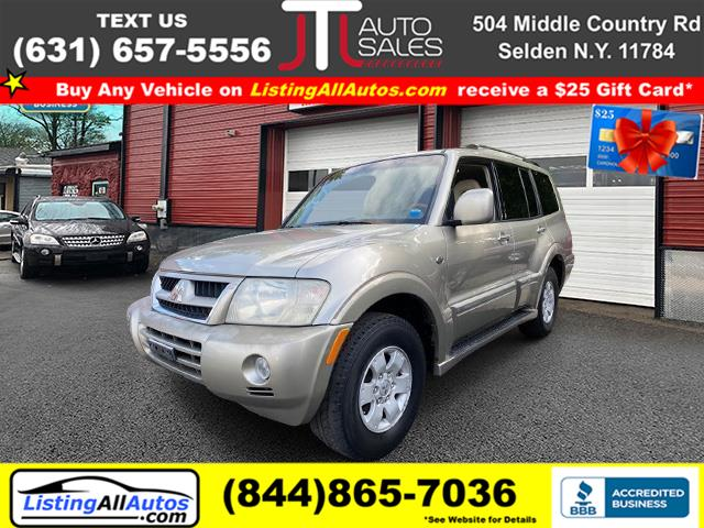 Used 2003 Mitsubishi Montero in Patchogue, New York | www.ListingAllAutos.com. Patchogue, New York