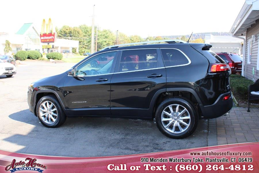 Used Jeep Cherokee 4WD 4dr Limited 2014 | Auto House of Luxury. Plantsville, Connecticut