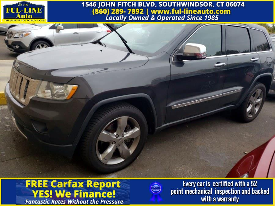 Used Jeep Grand Cherokee 4WD 4dr Overland Summit 2011 | Ful-line Auto LLC. South Windsor , Connecticut
