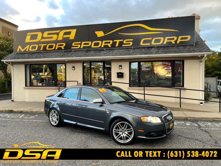 Used 2008 Audi S4 in Commack, New York | DSA Motor Sports Corp. Commack, New York