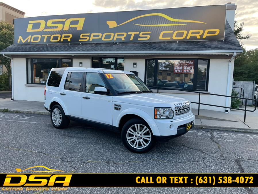 Used Land Rover LR4 4WD 4dr HSE 2012 | DSA Motor Sports Corp. Commack, New York