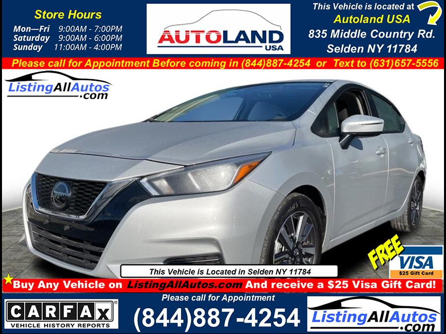 Used 2021 Nissan Versa in Patchogue, New York   www.ListingAllAutos.com. Patchogue, New York