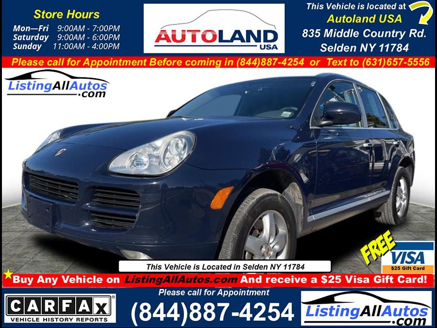 Used 2006 Porsche Cayenne in Patchogue, New York | www.ListingAllAutos.com. Patchogue, New York