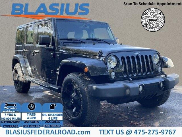 Used Jeep Wrangler Unlimited Sahara 2015   Blasius Federal Road. Brookfield, Connecticut