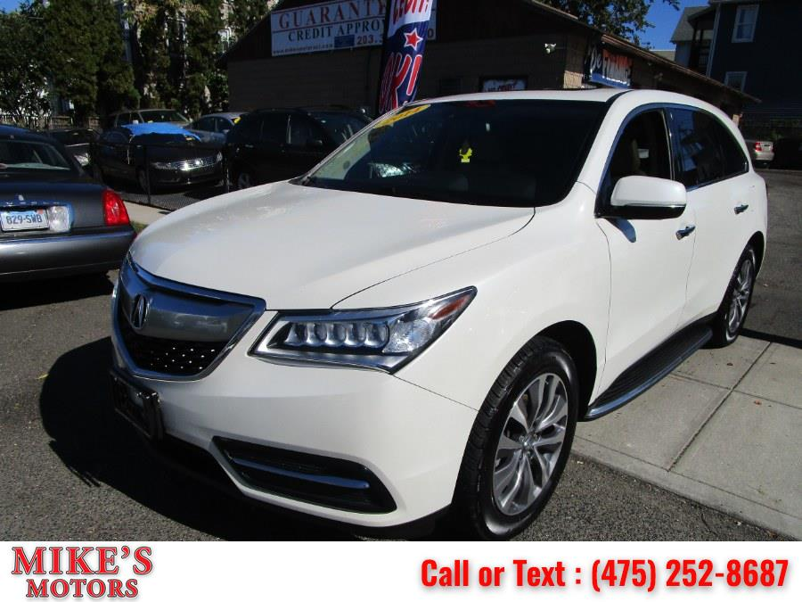 Used 2014 Acura MDX in Stratford, Connecticut | Mike's Motors LLC. Stratford, Connecticut