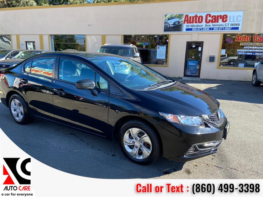 Used 2015 Honda Civic Sedan in Vernon , Connecticut | Auto Care Motors. Vernon , Connecticut