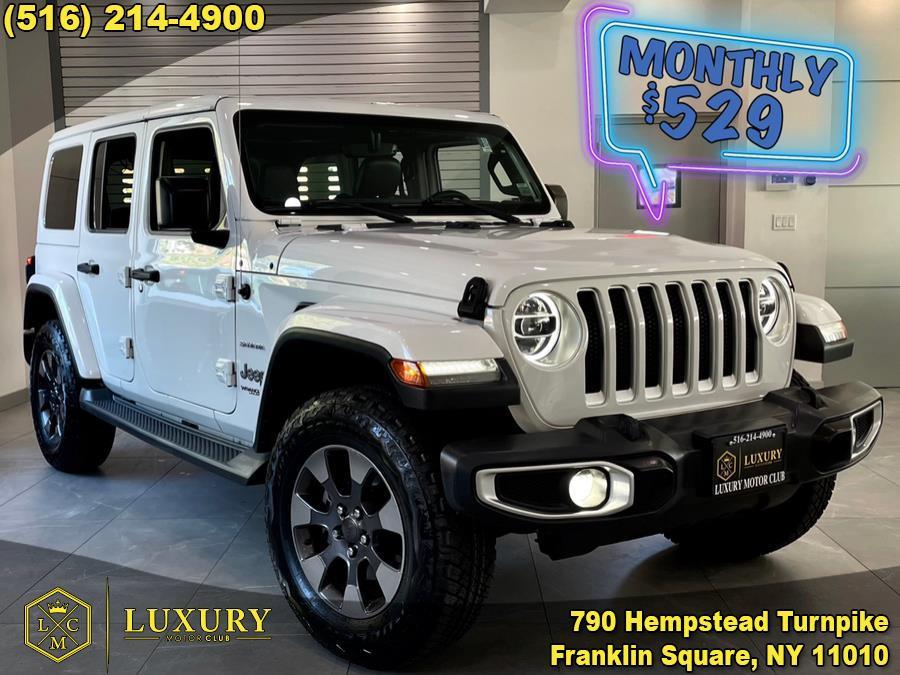 Used Jeep Wrangler Unlimited Sahara 4x4 2018   Luxury Motor Club. Franklin Square, New York