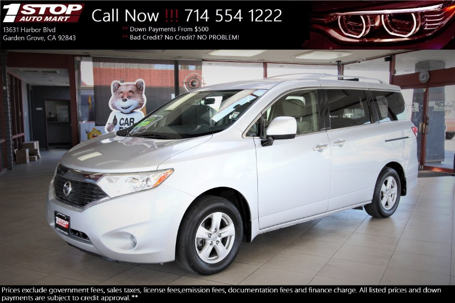 Used Nissan Quest 4dr S 2015 | 1 Stop Auto Mart Inc.. Garden Grove, California