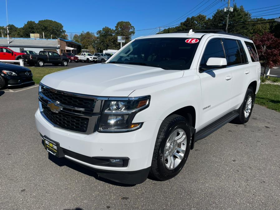 Used Chevrolet Tahoe 4WD 4dr LT 2016   Mike And Tony Auto Sales, Inc. South Windsor, Connecticut