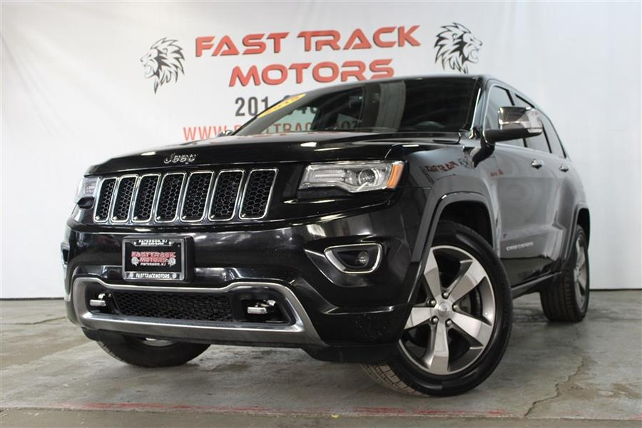 Used Jeep Grand Cherokee OVERLAND 2015   Fast Track Motors. Paterson, New Jersey